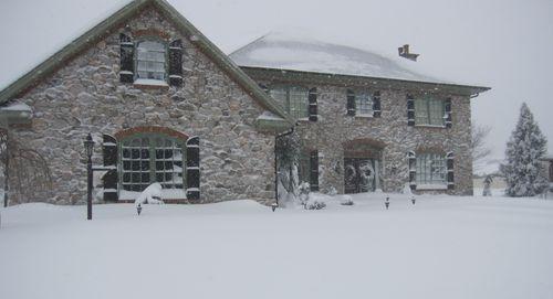 House snow!!