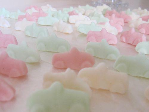 Gummy cars