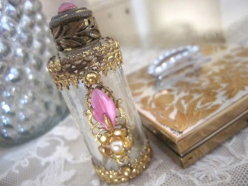 Tiny antique perfume bottle