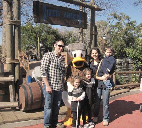 Disney Our Family & Donald