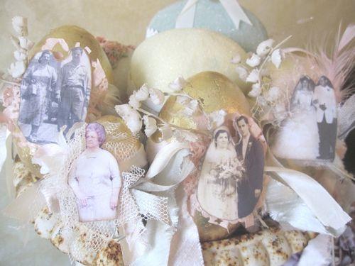 Eggs in urn